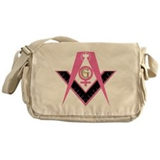 The Lady Freemason Messenger Bag