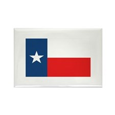 Flag of Texas Rectangle Magnet