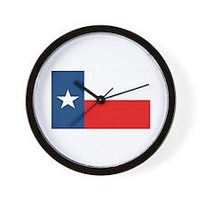 Flag of Texas Wall Clock