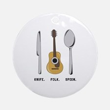 Follk Ornament (Round)