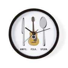 Follk Wall Clock
