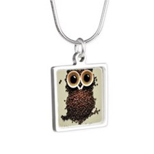 Owl says COFFEE!! Necklaces