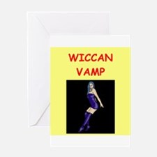 WICCAN Greeting Card