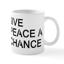 Give Peace a Chance Small Mug