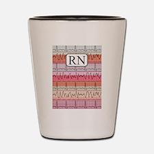 RN case reds Shot Glass