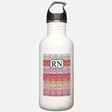 RN case reds Water Bottle