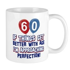 60 year Old Birthday Designs Small Mug