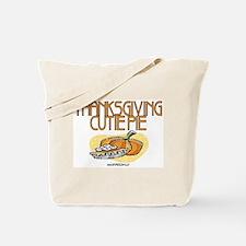 Thanksgiving Cutie Pie Tote Bag