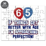 65th birthday Puzzles