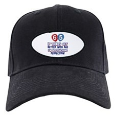 65 year Old Birthday Designs Baseball Hat
