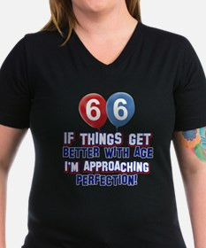 66 year Old Birthday Designs Shirt