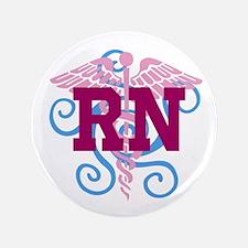 RN Swirl 3.5&Quot; Button