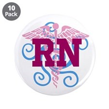 RN Swirl 3.5&Quot; Button (10 Pack)