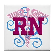 RN Swirl Tile Coaster