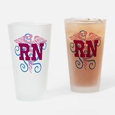 RN swirl Drinking Glass