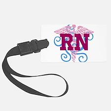 RN swirl Luggage Tag