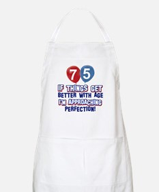 75 year Old Birthday Designs Apron