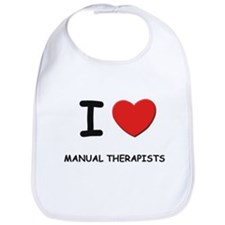 I love manual therapists Bib