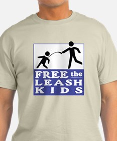 Cute Free the leash kids T-Shirt