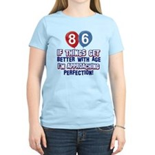 86 year Old Birthday Designs T-Shirt