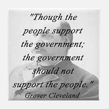 Cleveland - Support Tile Coaster