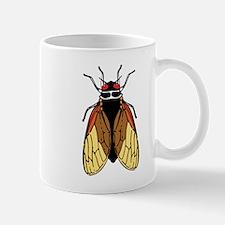 Cicada -Magicicada Bug Drawing Small Mug