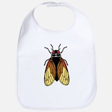 Cicada -Magicicada Bug Drawing Bib