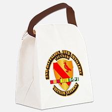 Army - 2-19th FA w VN SVC Canvas Lunch Bag