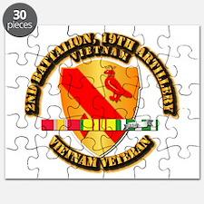 Army - 2-19th FA w VN SVC Puzzle