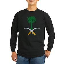 Saudi Arabian Coat of Arms Long Sleeve T-Shirt