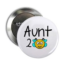 "Aunt 2 Bee 2.25"" Button"