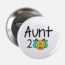 """Aunt 2 Bee 2.25"""" Button"""