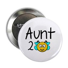 "Aunt 2 Bee 2.25"" Button (100 pack)"