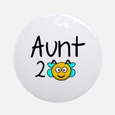 Aunt 2 Bee Ornament (Round)
