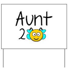 Aunt 2 Bee Yard Sign
