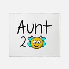 Aunt 2 Bee Stadium Blanket