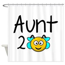 Aunt 2 Bee Shower Curtain