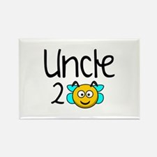 Uncle 2 Bee Rectangle Magnet