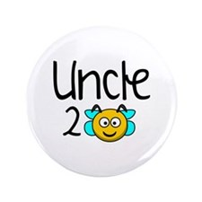 """Uncle 2 Bee 3.5"""" Button"""