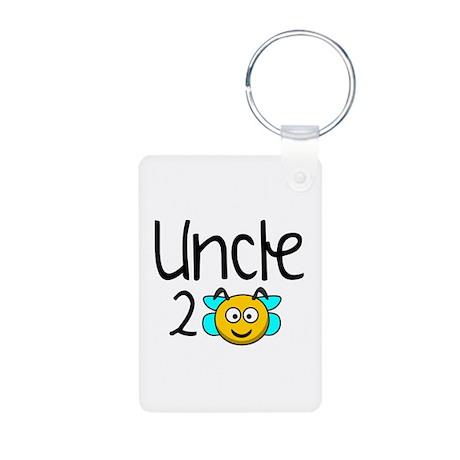 Uncle 2 Bee Aluminum Photo Keychain