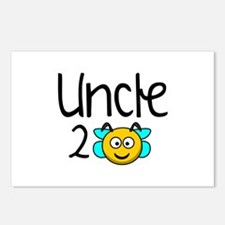 Uncle 2 Bee Postcards (Package of 8)
