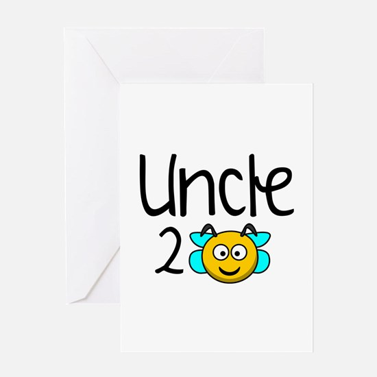 Uncle 2 Bee Greeting Card