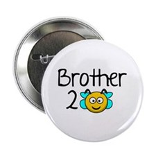 "Brother 2 Bee 2.25"" Button (100 pack)"