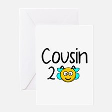 Cousin 2 Bee Greeting Card