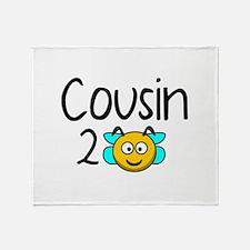 Cousin 2 Bee Stadium Blanket