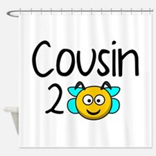 Cousin 2 Bee Shower Curtain