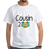 Cousin to bee Mens White T-shirts