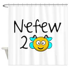 Nefew 2 Bee Shower Curtain