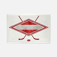 Austria Ice Hockey Flag Rectangle Magnet