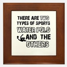 Waterpolo designs Framed Tile
